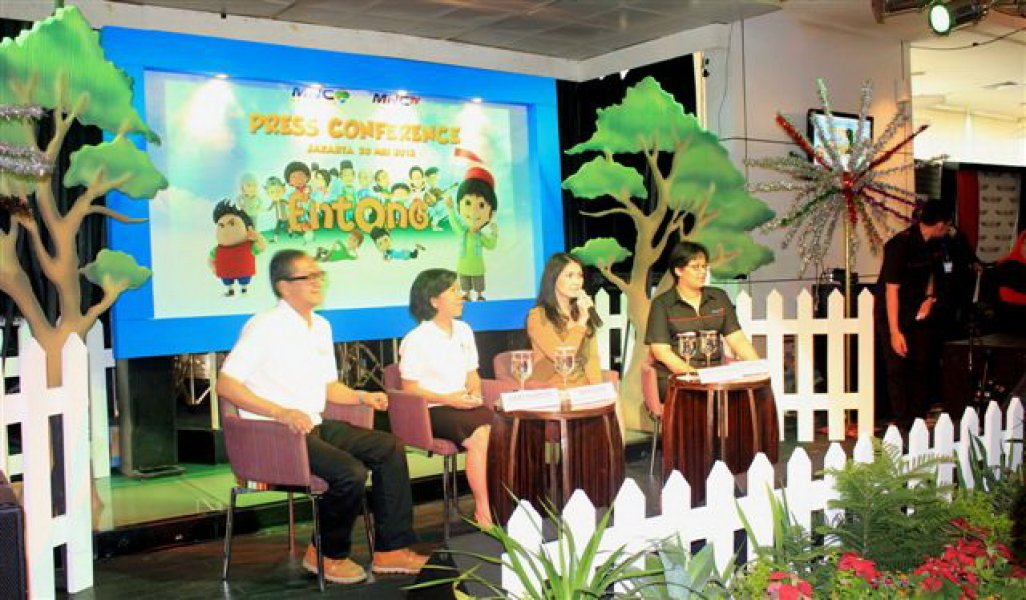 Press Conference Entong Animasi, May 20, 2013