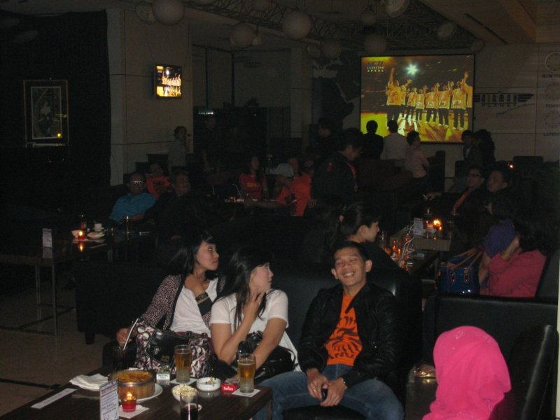 Nobar FIFA Cup at Airman Planet
