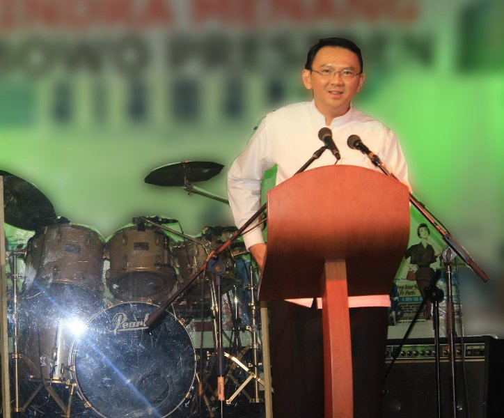 Guest Visit : Mr Ahok at Airman, May 10, 2013