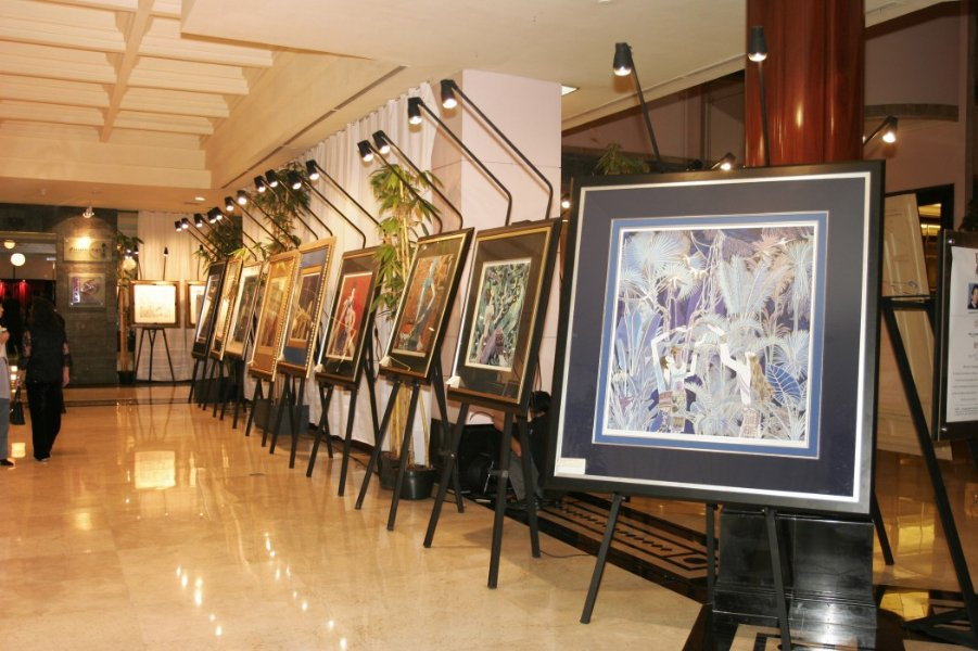 Ting Shao Kuang Painting Exhibition at Airman Planet
