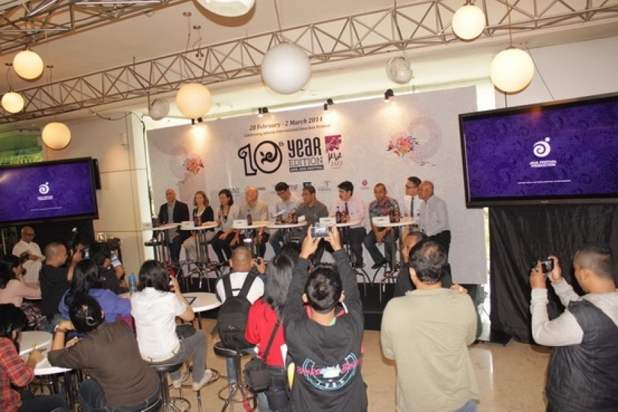 Press Conference Jakarta Java Festival 28th Feb- 2nd March 2014, 10th Year Edition Monday, Nov 6, 2013 at Airman