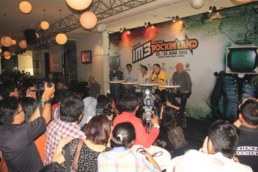 Press Conference Java Rockin Land, May 29, 2013