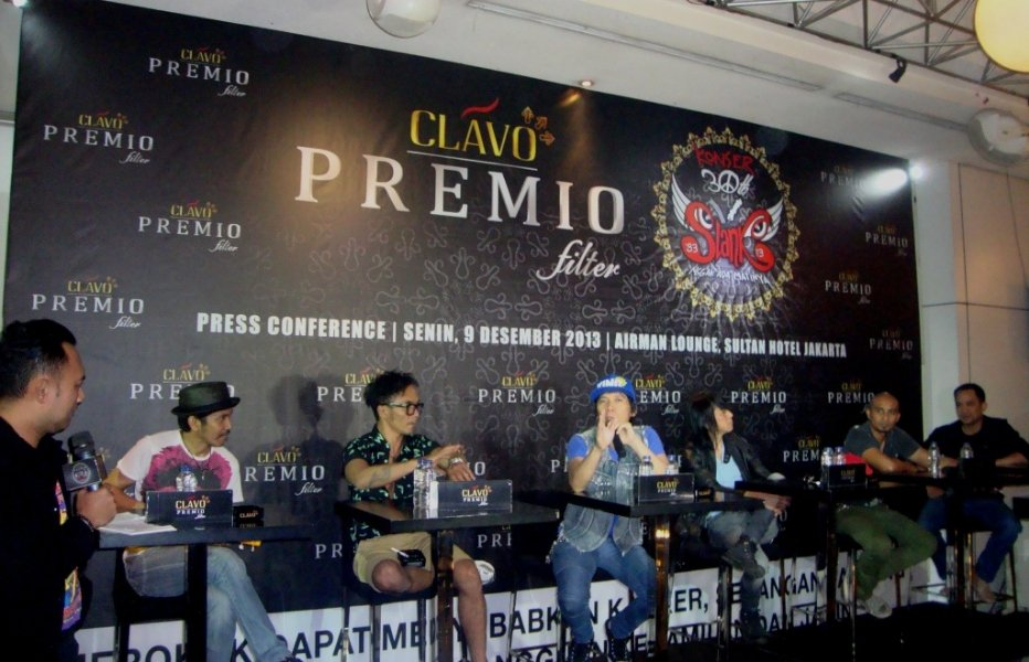 "Press Conference ""Konser 30 Tahun Slank"", Monday, Dec 9, 2013"