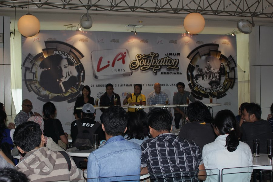 LA Lights Java Soulnation Festival (Press Conference)  August 21, 2013
