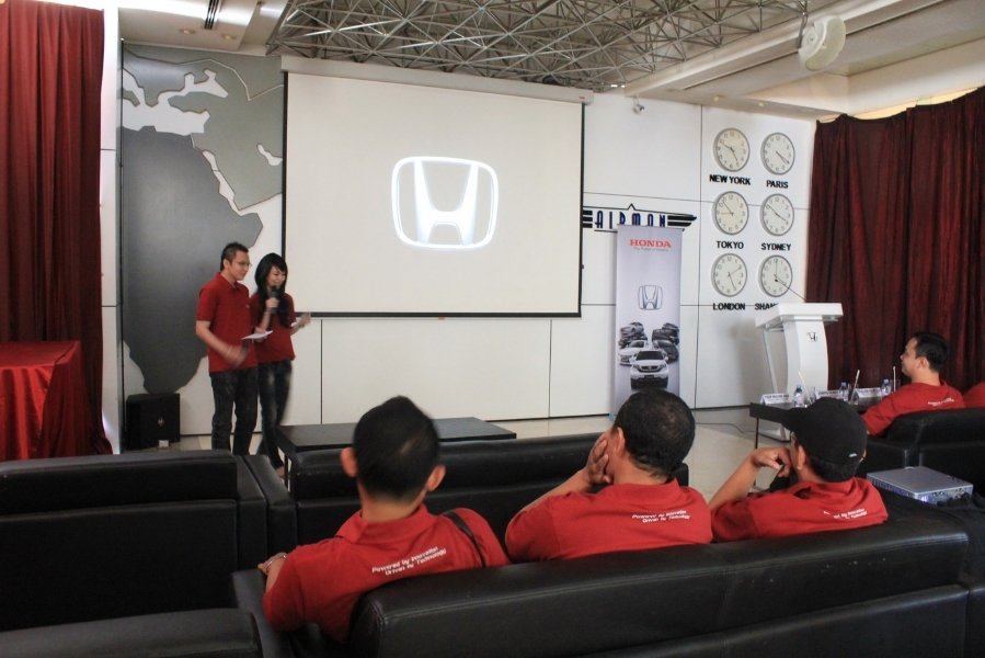 HONDA Product Launching - Juli 2012 at Airman Planet