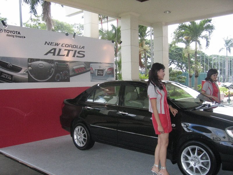 1st Media Gathering 2006 of Toyota Altis at Airman Planet